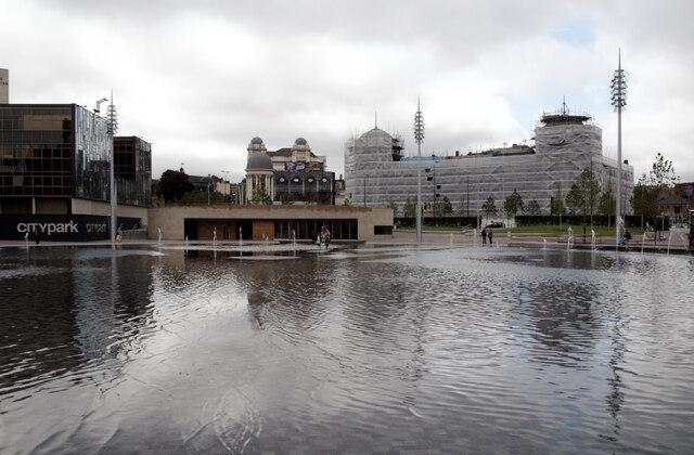 Mirror Pool, City Park, Bradford