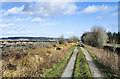 NY9721 : 'Other route with public access' below Scarney Hill by Trevor Littlewood