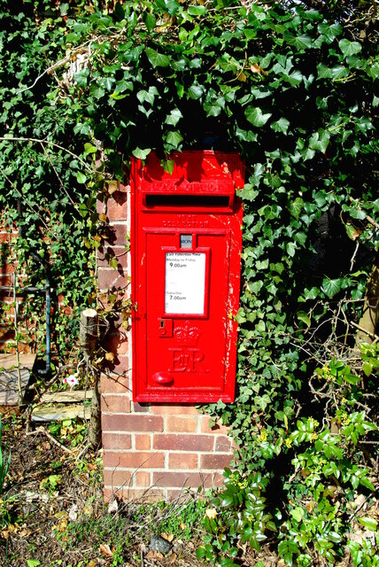 Postbox in Sherlock Road, Cambridge