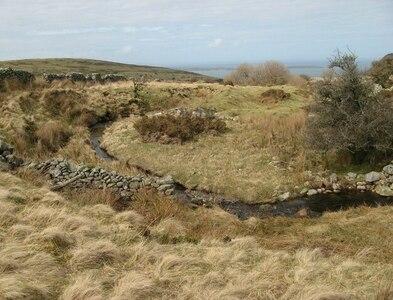 SH7072 : River meander by Jonathan Wilkins