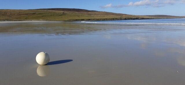 Buoy on Easting beach