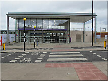 TQ2081 : Acton Main Line Station new ticket office by David Hawgood