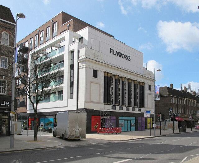 Ealing Filmworks, cinema rebuilt with apartments