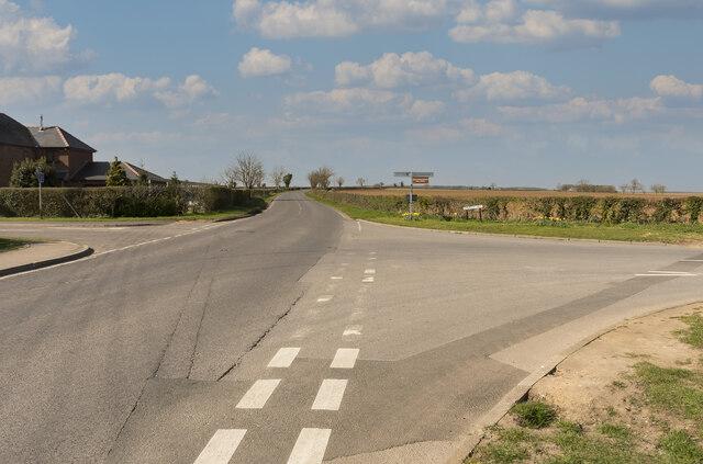 Crossroads near Washingborough