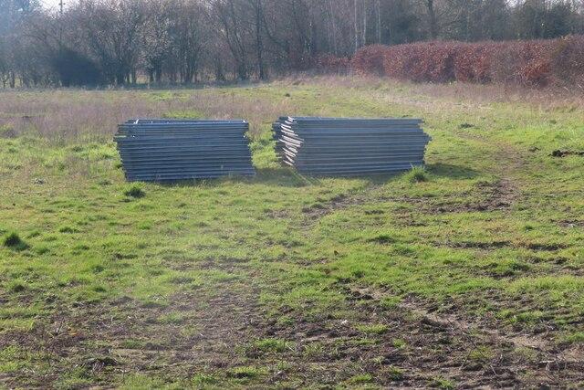 Fencing near the farm