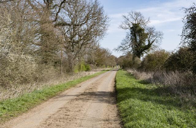 Potterhanworth Road heading east