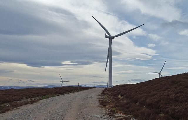 Hill of Towie Wind Farm