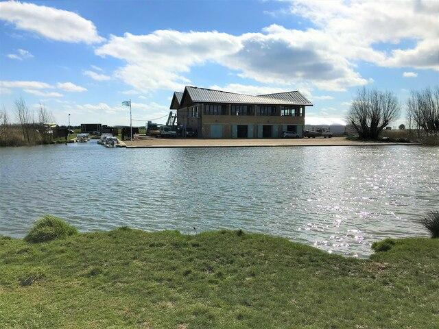 Cambridge University Boat House on the River Great Ouse in Ely