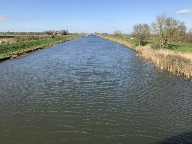 The 2021 University Boat Race course on the River Great Ouse