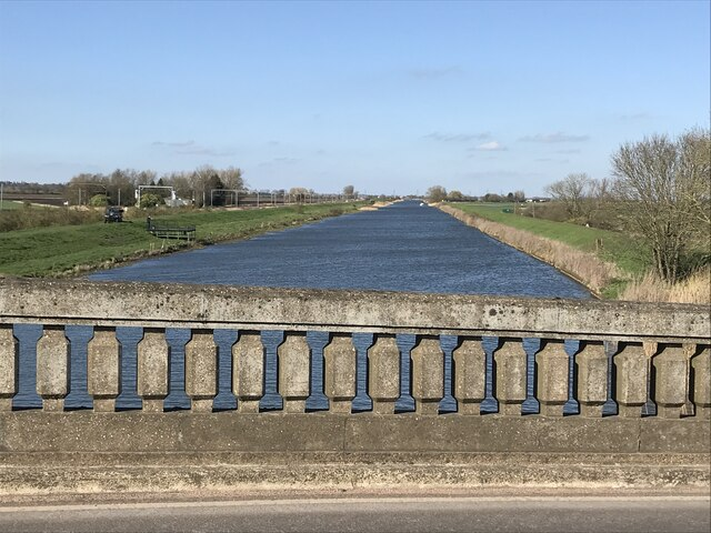 The River Great Ouse viewed from Queen Adelaide Bridge