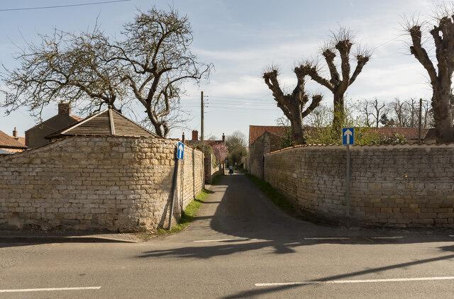 Back Lane, Heighington
