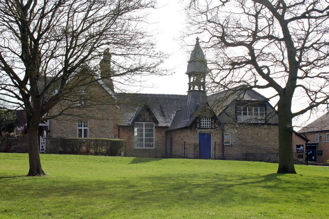 Ingham Primary School and attached school house, The Green, Ingham