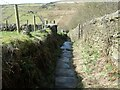 """SD9931 : """"The cobbles of Lumb Lane"""" [2] by Christine Johnstone"""
