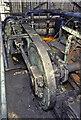SJ8841 : Hem Heath Colliery, Trentham  - rope changing winch by Chris Allen