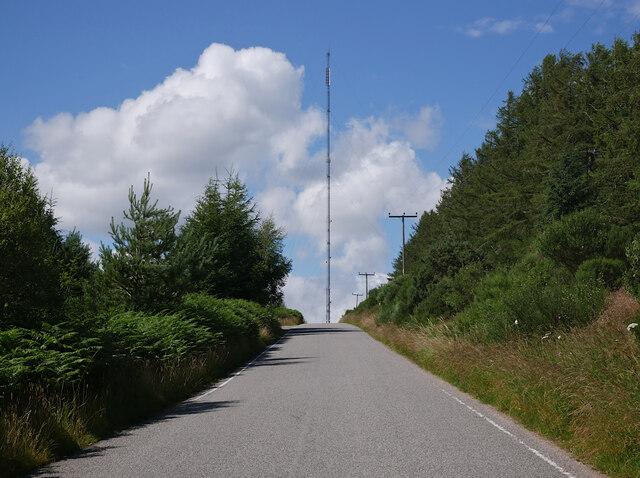 Road up Mount Eagle
