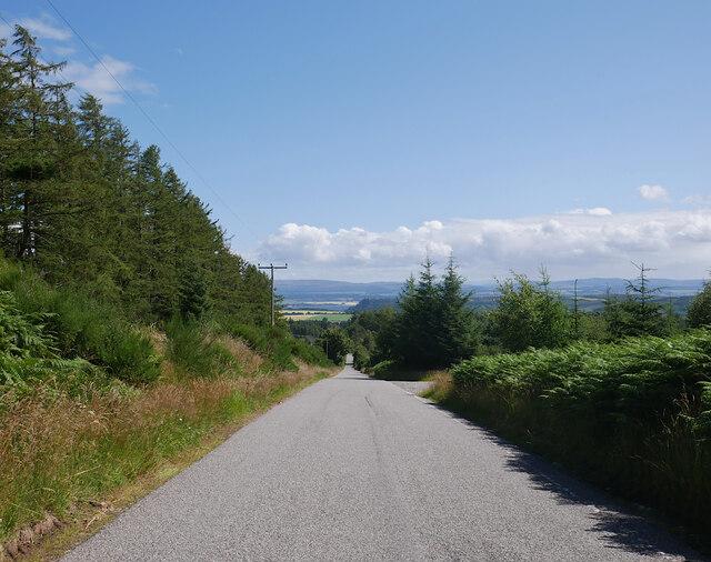 Road down Mount Eagle