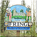TF7334 : Fring village sign by Adrian S Pye
