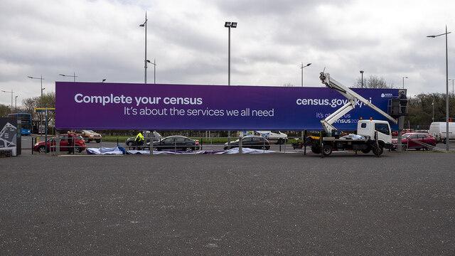 Census advert, Belfast