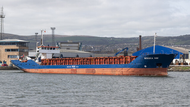 The 'Nordica Hav' at Belfast