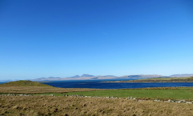 Grazing land at Doide in Knapdale