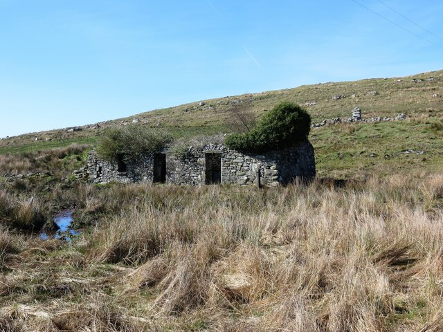 Ruined cottage at Balimore, Knapdale