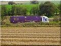 SU2280 : HGV heading west, M4, Swindon by Brian Robert Marshall