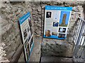 SO4685 : Signs inside Flounders' Folly by Fabian Musto