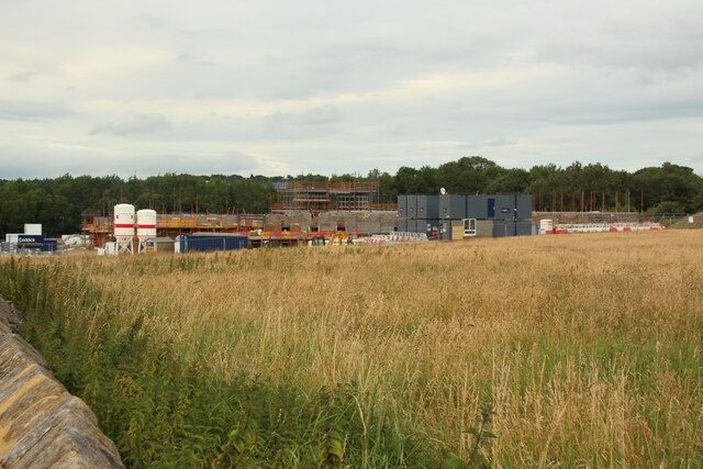 Construction site on Beckwith Head Road