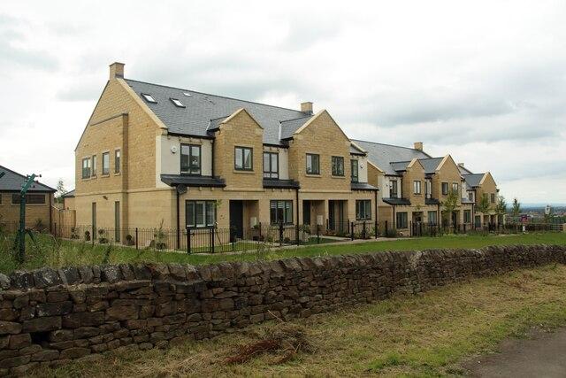 New houses, Otley Road, Harrogate