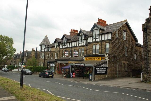 Local shops, Otley Road, Harrogate