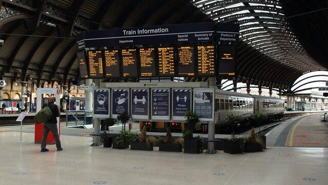 Platform Seven, York Station