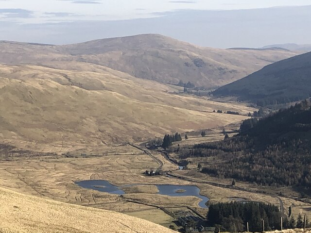 The Ettrick Valley from Nether Hill