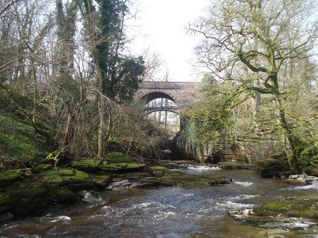The Stenkrith Bridges