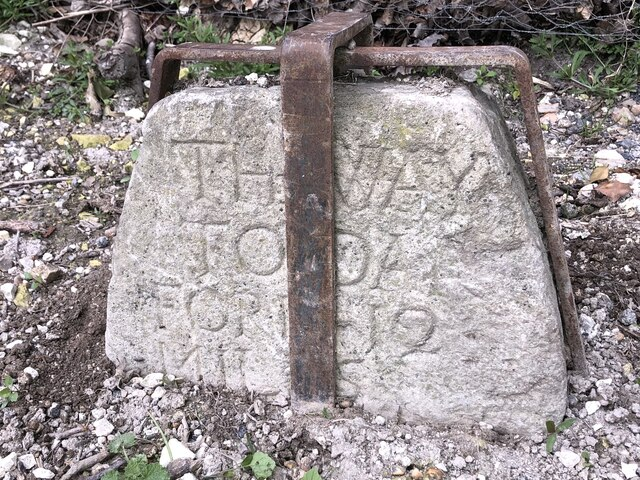 Way stone, Kemsing