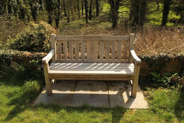 Ethel Gordon Fenwick bench