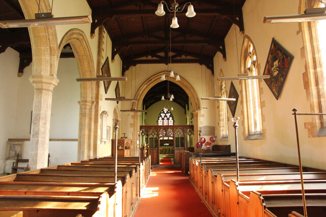 St Mary's nave