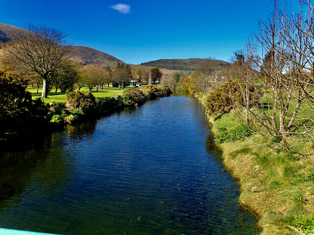 The Tullybranigan River in Islands Park