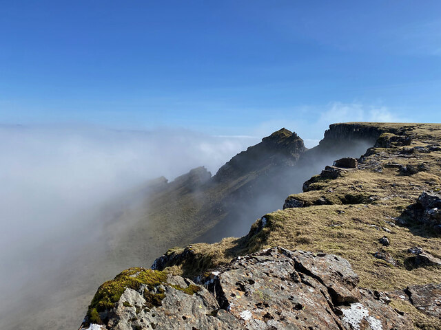 On the north ridge of the Storr