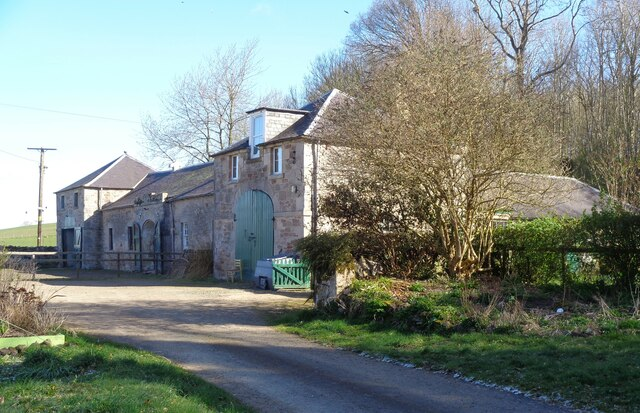 The stables at Ormiston House