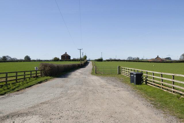 Track to Chapel Garths Farm