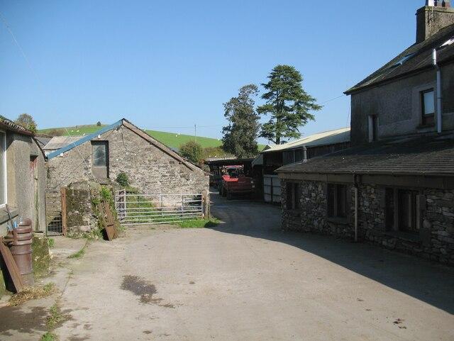 Hollowmire farmyard