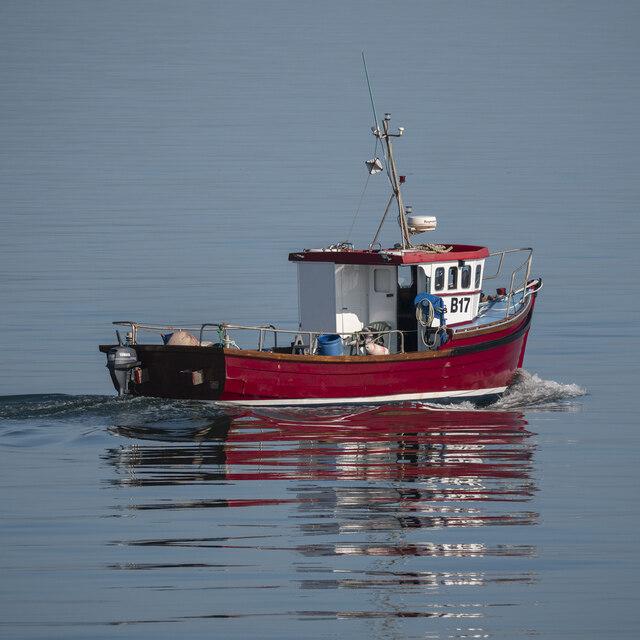 The 'Rosebank' off Bangor