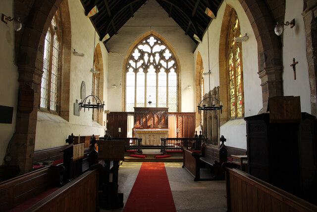 St. Mary's chancel