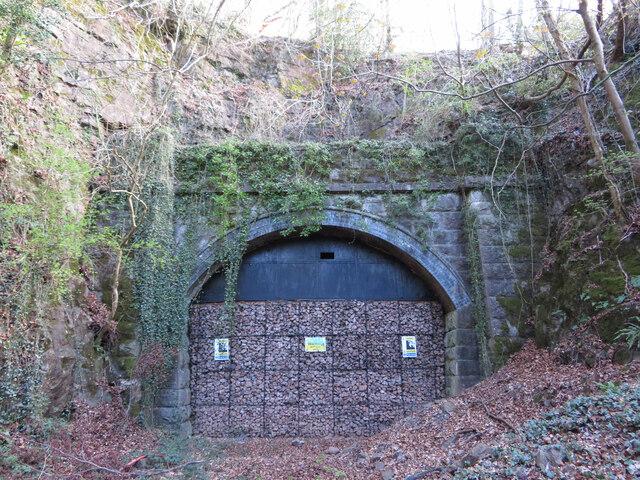 Southern portal of Walnut Tree or Garth Tunnel