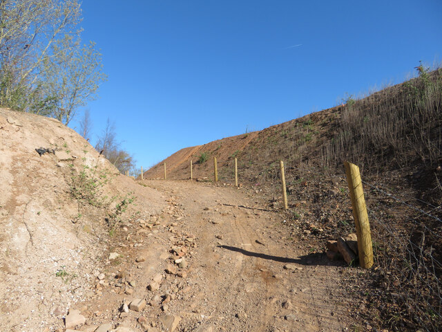 Path between the quarries
