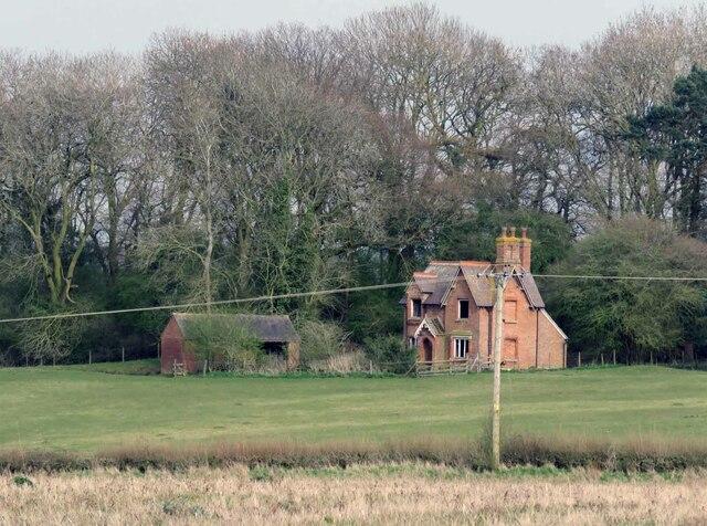 House off Dunton Lane by Andrew Tatlow