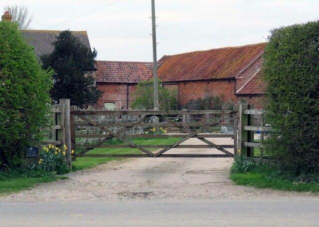 An entrance to Langar Grange by Andrew Tatlow