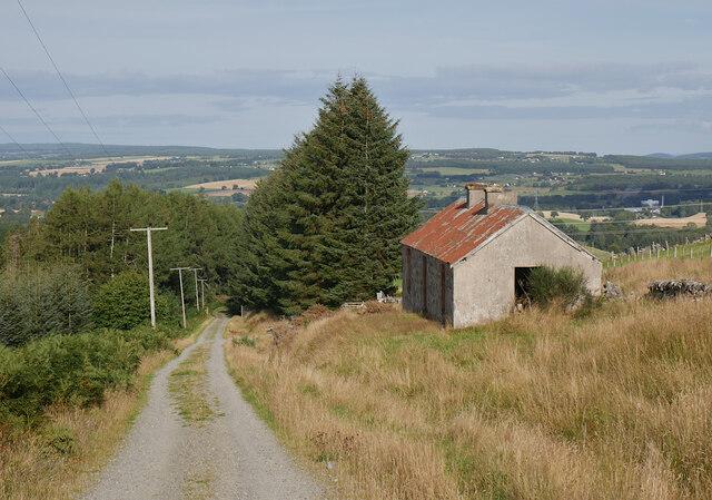 Track, Auchmore Cottage