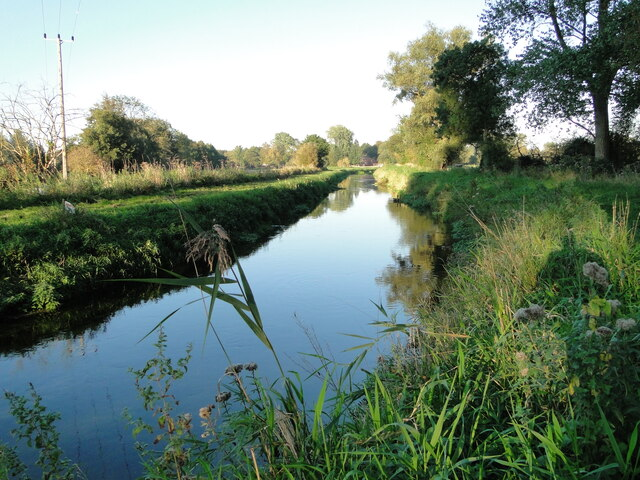The River Nar, as smooth as glass