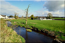 H5467 : Cloghfin River, Beragh / Cooley by Kenneth  Allen